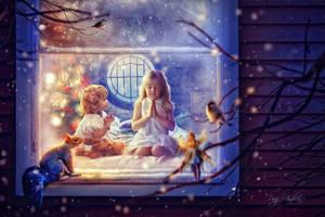 Christmas wish by panjoool