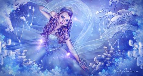 The Elves Princess by panjoool