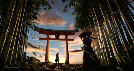The way of  samurai by panjoool