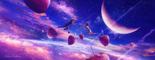 Flying in love by panjoool