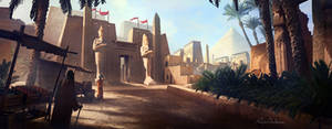 The Great City of Cairo by panjoool