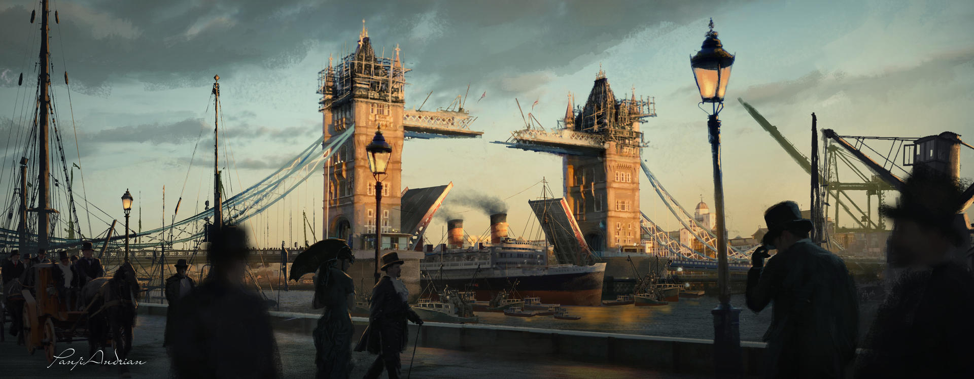 Concept training ( Tower Bridge )