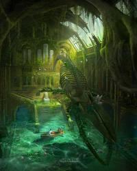 My Fantasy place by panjoool