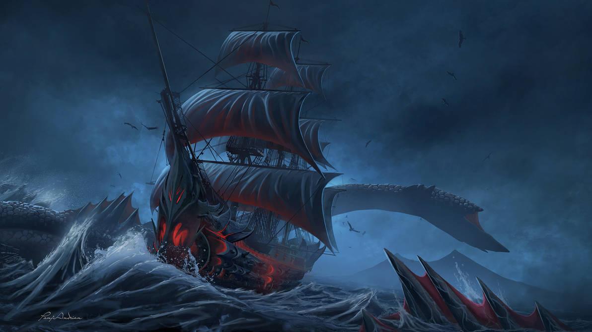 Sea Devil by panjoool