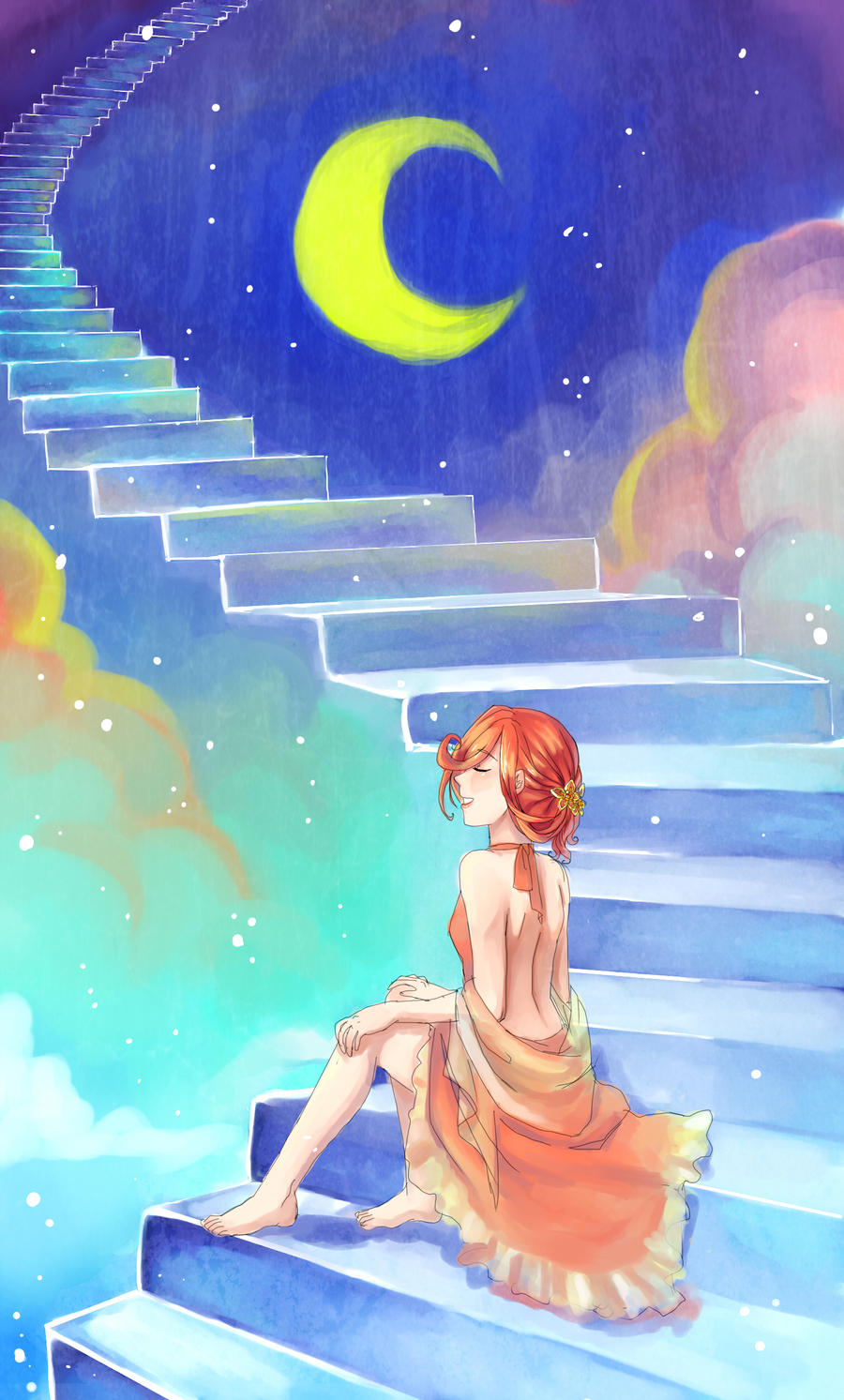 Stairs by Aedjy