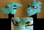 Dragon Fursuit head WIP