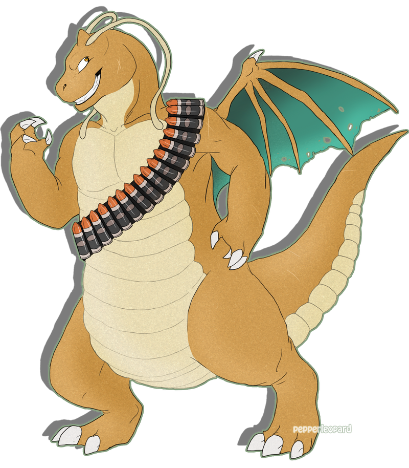 Colt the Dragonite -gift- by FiveSpice