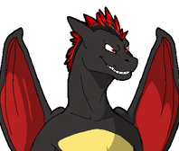 Talksprite- Pyyros the Charizard by FiveSpice