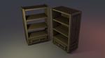 Low poly Shelf