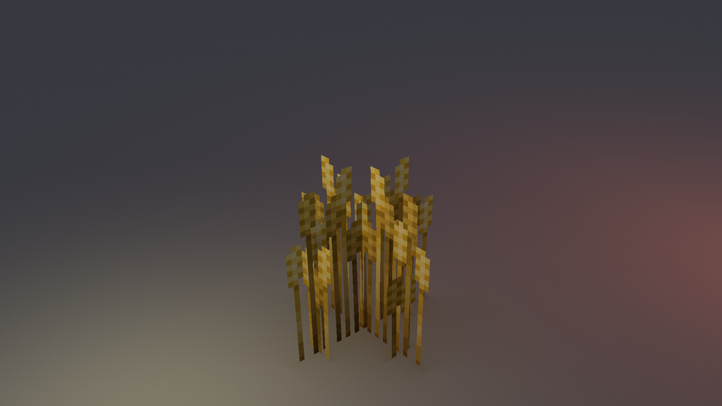 Low poly wheat by lithium-sound
