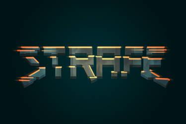Strafe logo by lithium-sound