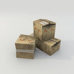 Strafe : Cardboard Box by lithium-sound