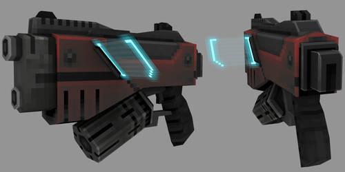 Strafe : Strong pistol by lithium-sound