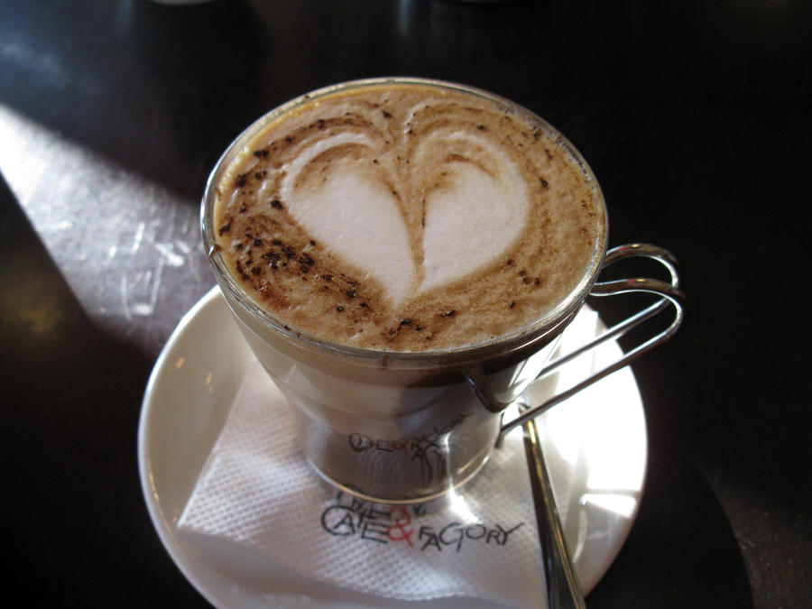 Coffee heart by Sweetatz