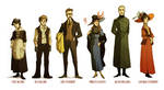 Fall Of Giants characters