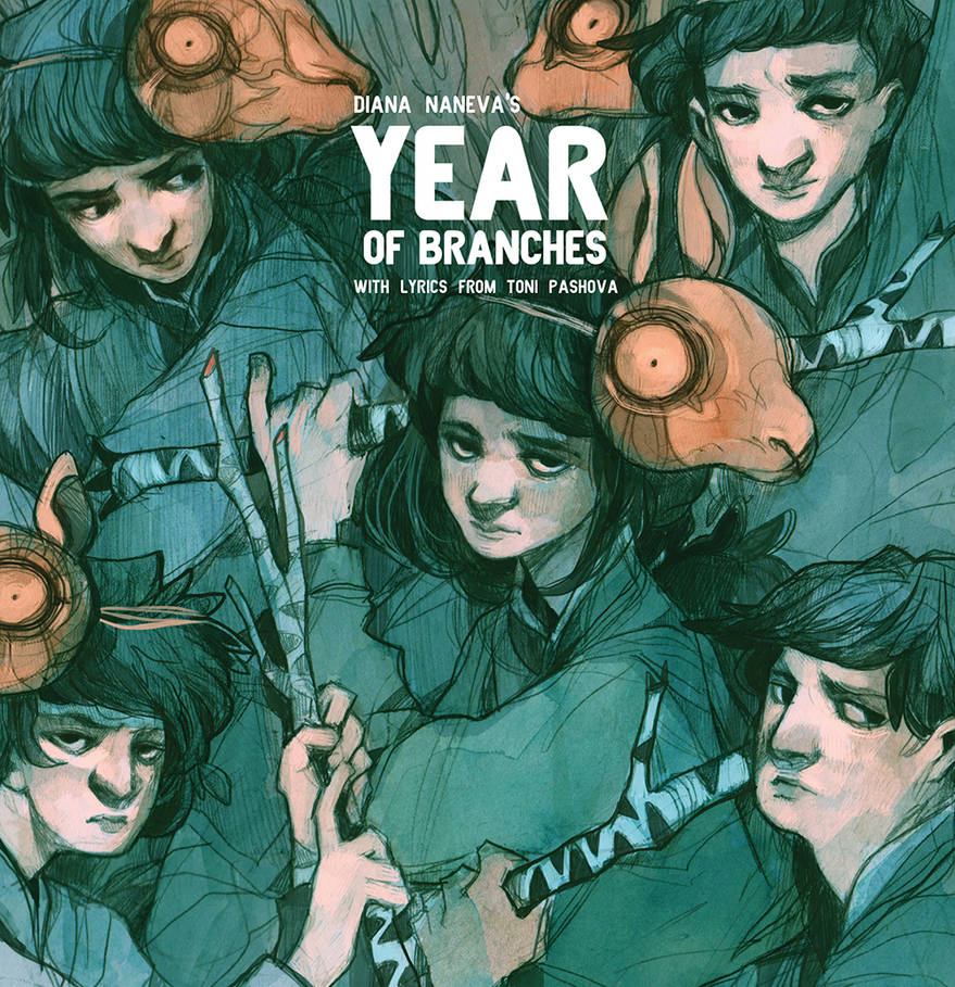 Year of Branches Artbook