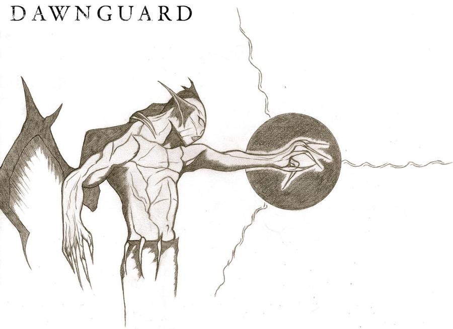 The Elder Scrolls V: Dawnguard | Vampire Lord / 1 by BetweenTheTeardrops