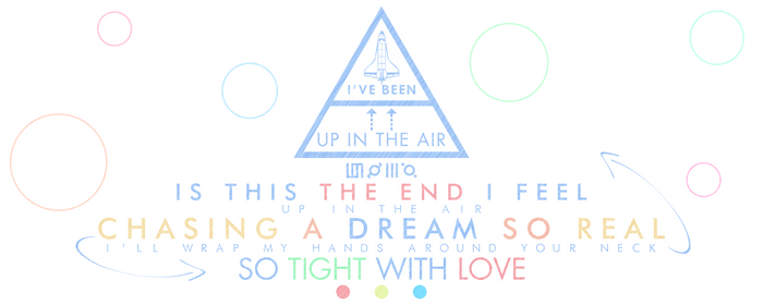 30 Seconds to Mars: Up in the Air | Lyric Design