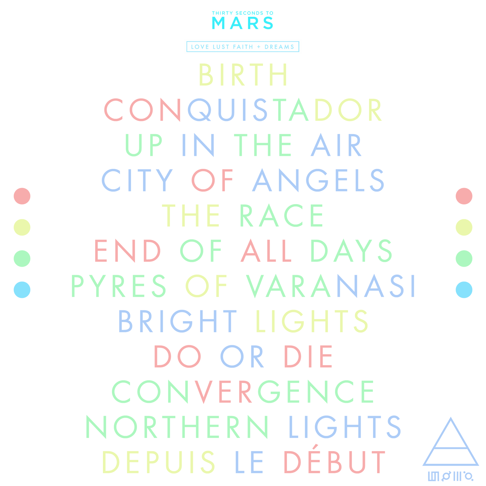 thirty seconds to mars love lust faith dreams by