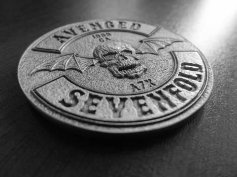 A7X: Hail to the King | Deathbat Coin