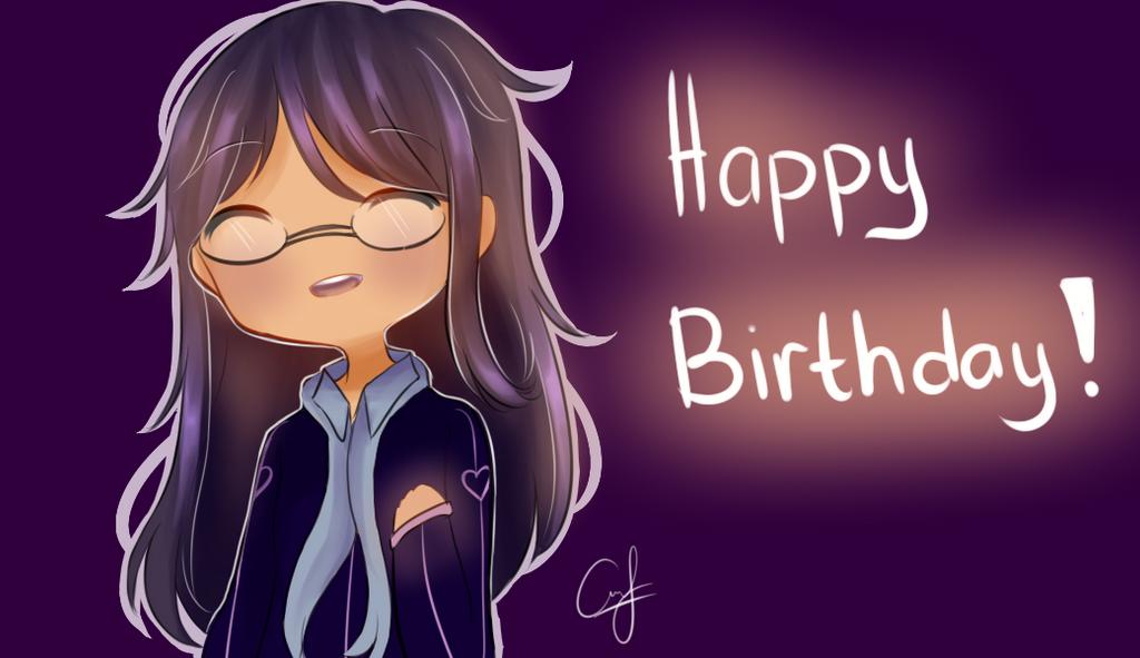 Happy Birthday Faria! by Hanuno