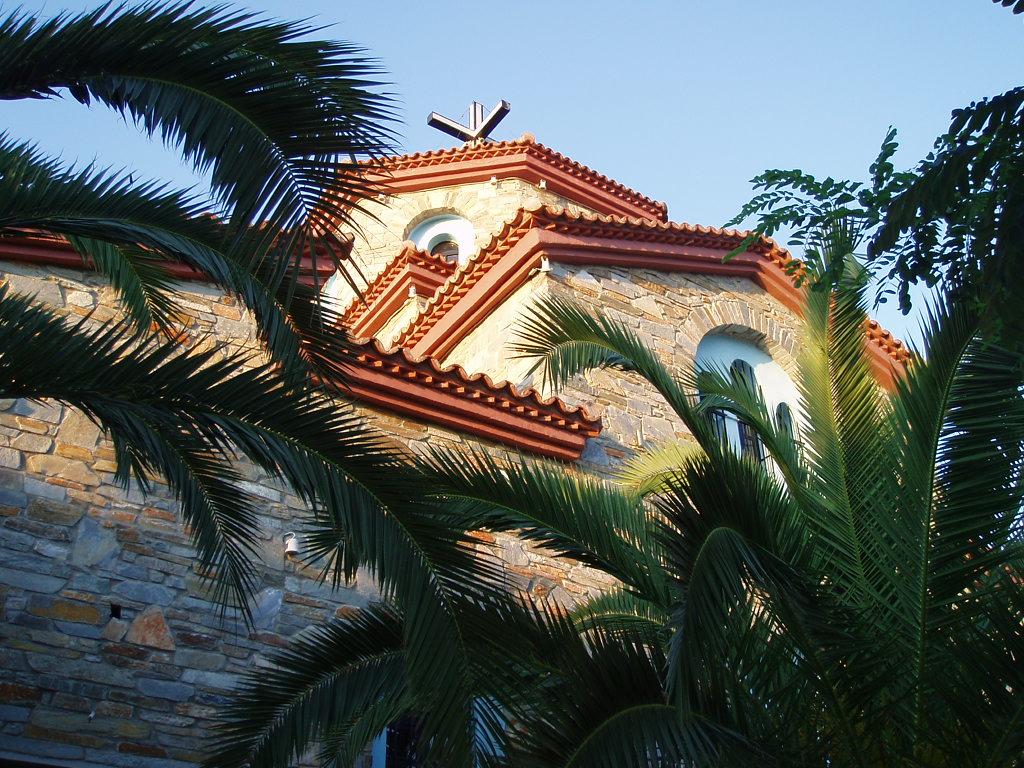 Church at Rachoni Thasos, Greece 2014 by kate44