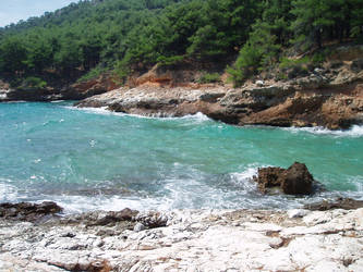 Thimonia beach Thasos, Greece 2014
