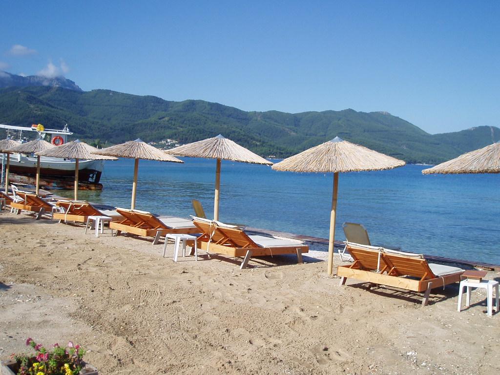 Limenas beach Thasos, Greece 2014 by kate44