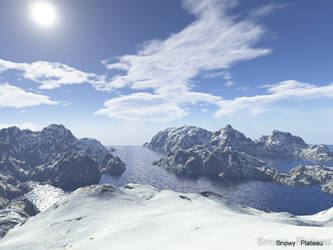 Snowy Plateau by Tyranic-Moron