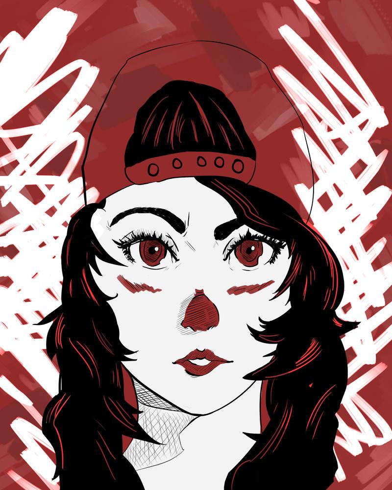 Hip Hop Girl by Vuuni-kun