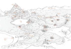 Gensokyo Map by Larb