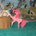 Another statue in Griffonstone (unpainted tin)