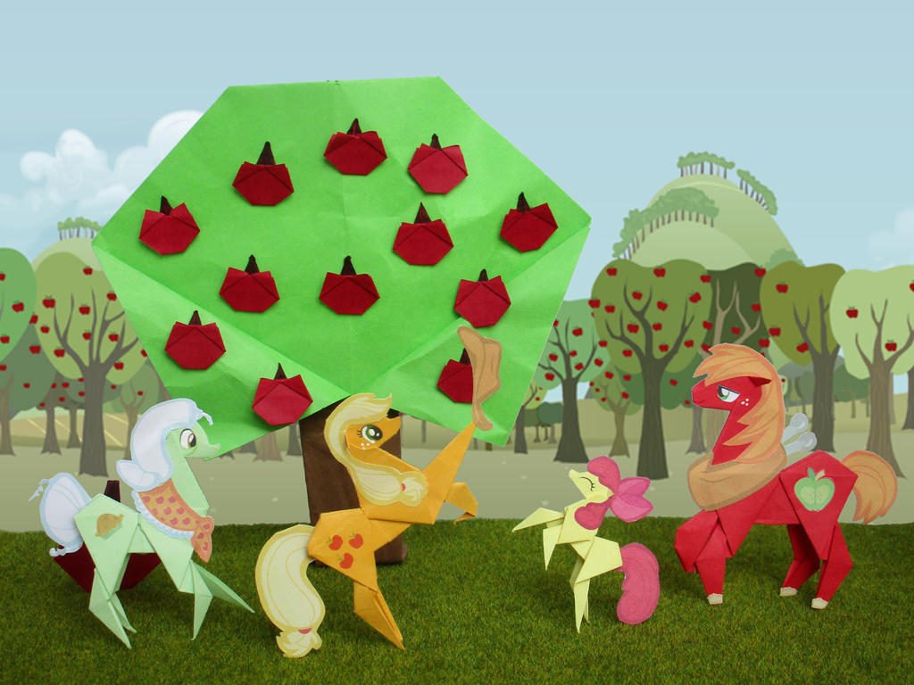 Great harvest at Sweet Apple Acres by Malte279