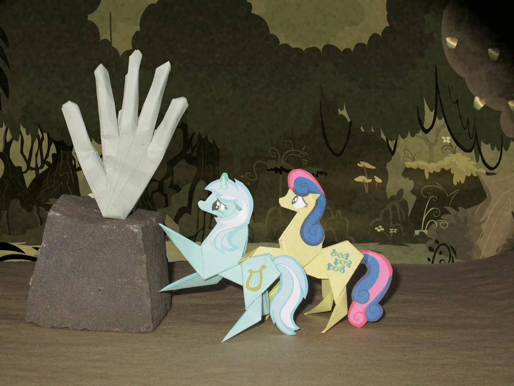 Out of hoof's reach