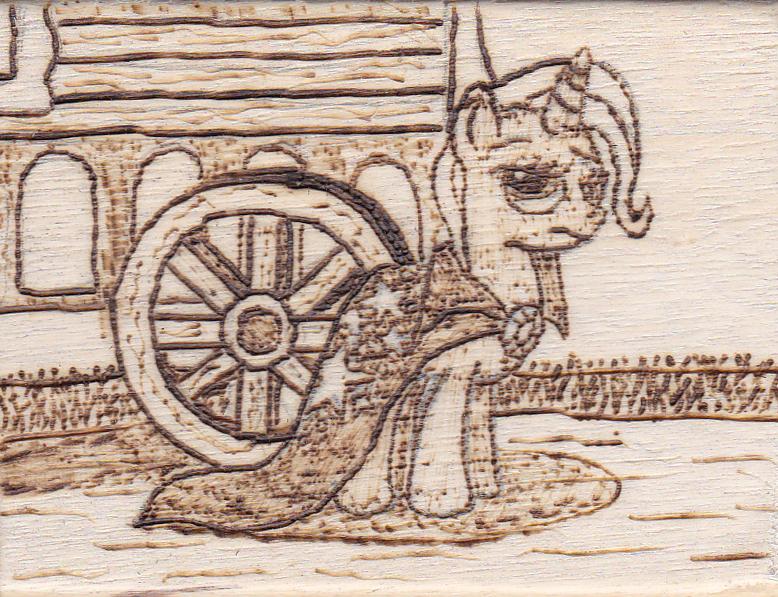 Pyrography - I still don't trust that wheel!