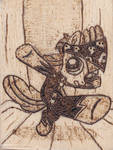 Show Stopper Apple Bloom Pyrography by Malte279