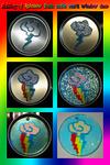 Making-of Rainbow Dash Cutie Mark window deco