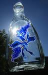 Luna Bottle in daylight
