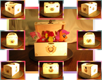 Cutie Mark Crusaders Chest Collage