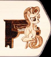 Starlight Piano Pyrography by Malte279