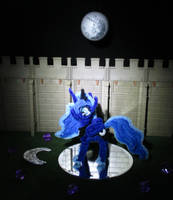 Pipe Cleaner Princess Luna by Malte279