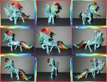 Wire Rainbow Dash Collage