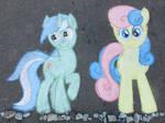 Chalk Lyra Heartstrings and Bon Bon
