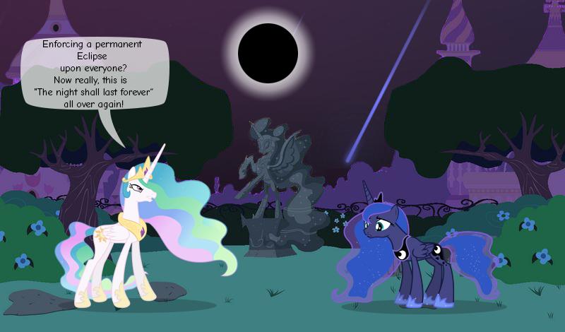 Permanent Eclipse