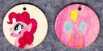 Pinkie Pie keyring pendant by Malte279