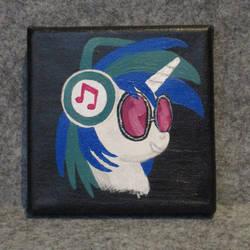 Vinyl Scratch / DJ Pon3 Portrait