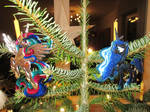 Royal Sisters in a Christmas Tree by Malte279