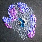 Rarity sparkling stone mosaic by Malte279