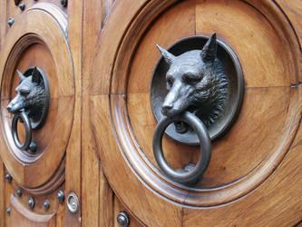 wolf's door