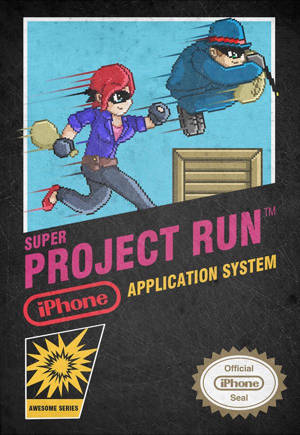 Project Run - Retro Promo by Mantastic001
